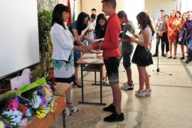 Учениците от Випуск 2019 получиха своите свидетелства за завършено основно образование.
